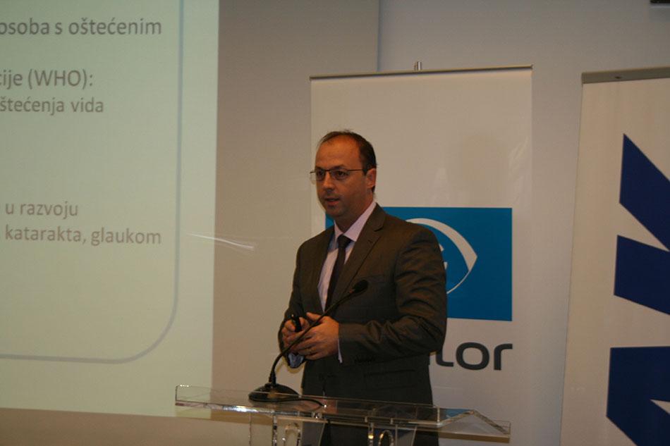 Rezultate provjere predstavio je Davor Mihaljević iz tvrtke Essilor