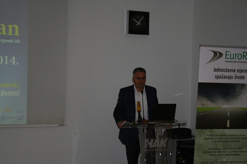 Alan Ordulj iz Gradskog ureda za prostorno uređenje, izgradnju Grada, graditeljstvo, komunalne poslove i promet
