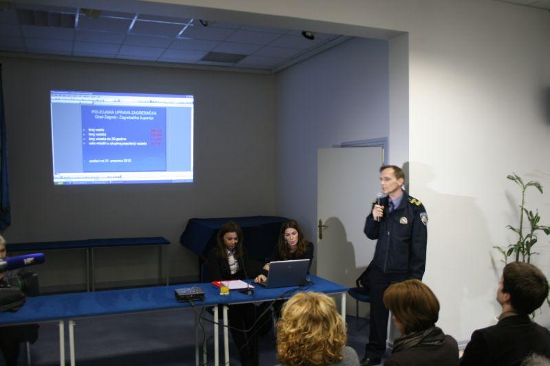 Predstavnik MUP-a Viktor Forjan održao je prezentaciju