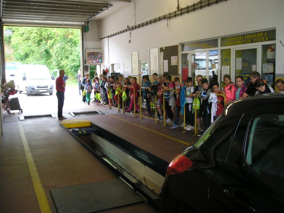 Prometna radionica za učenike iz Buja