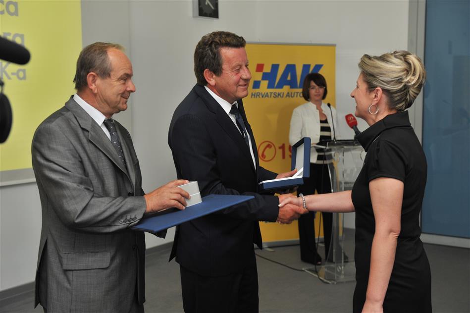 Dobitnici priznanja za postignute rezultate na povećanju broja članova HAK-a