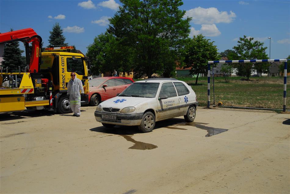 Poduzete aktivnosti autoklubova oko pomoći poplavljenim područjima u RH