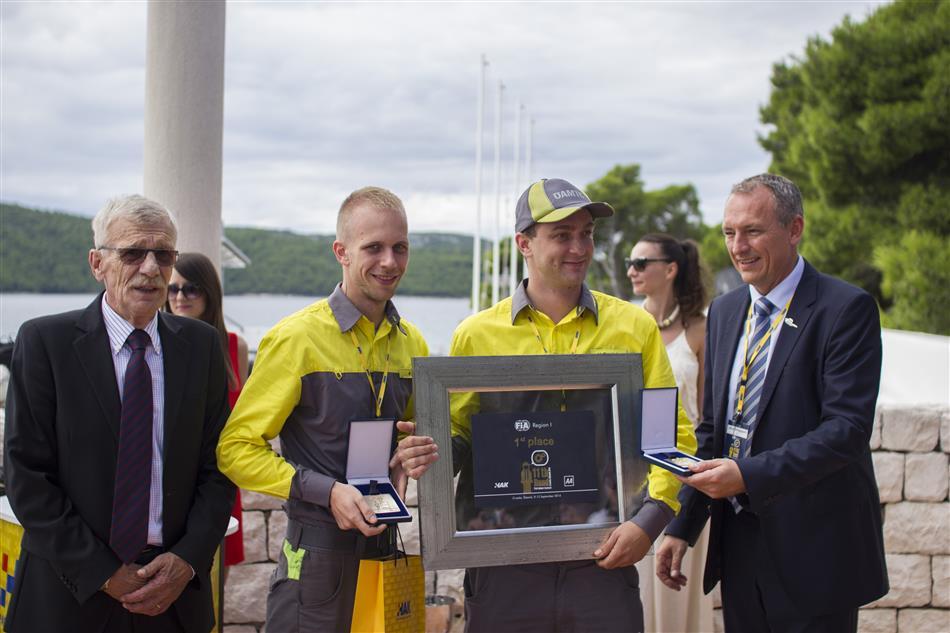 Pobjednici na 11. Međunarodnom natjecanju mehaničara u Šibeniku