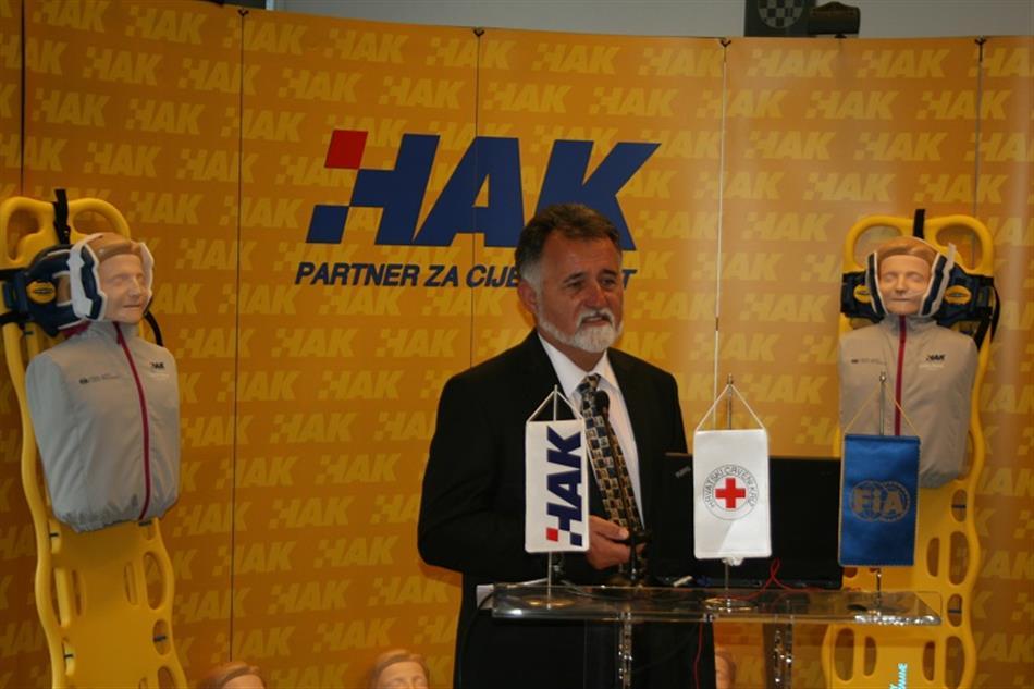 Projekt: I Ti možeš spasiti život - Krešimir Viduka HAK-Voditelj Ureda za sigurnost cestovnog prometa
