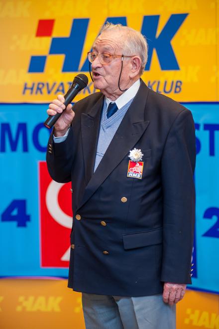 Zdravko Cicvara, zahvalio se u ime nagrađenih