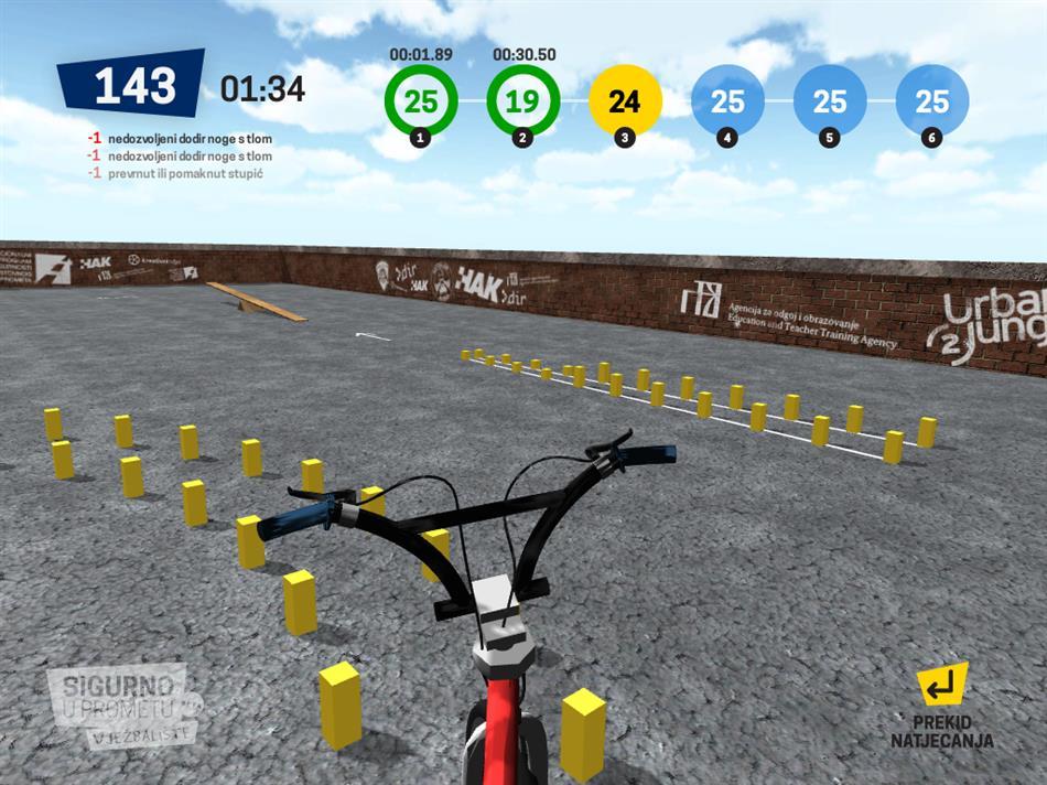 Sigurno u prometu - 3D virtualno vježbalište