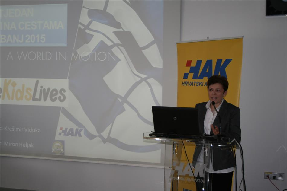 Predstavnica ministarstva zdravlja - Sanja Predavec