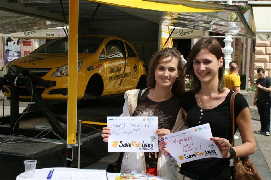 Kampanja #SaveKidsLives - Čuvajmo Dječje živote na Trgu bana Josipa Jelačića