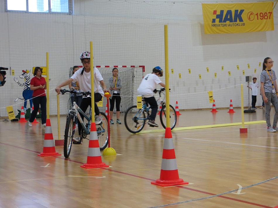 Sigurno u prometu 2015 - praktični dio natjecanja