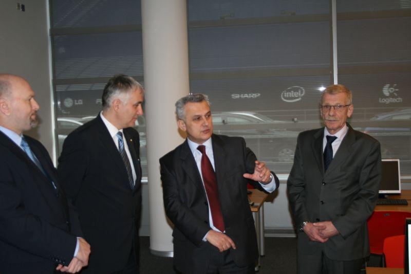 Predsjednik AMZS Danijel Starman i predsjednik HAK-a Ivo Bikić