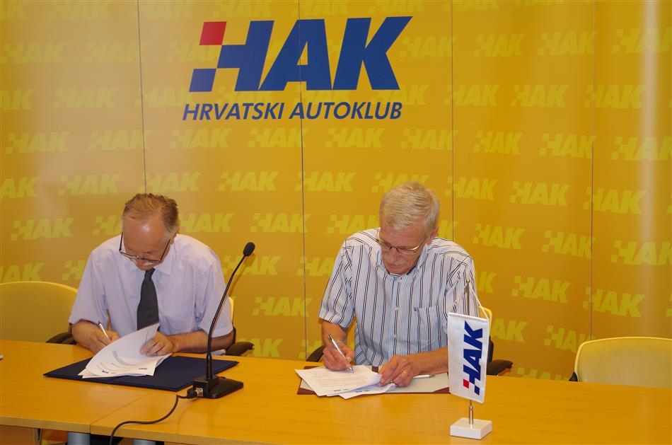 Potpisivanje ugovora o nastavku suradnje između Fakulteta prometnih znanosti