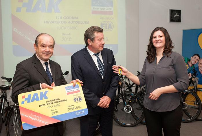 Dobitnica druge nagrade Luca Babić