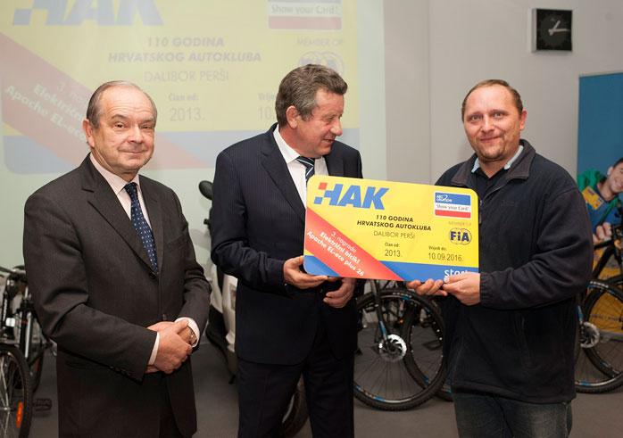 Dobitnik treće nagrade Dalibor Perši