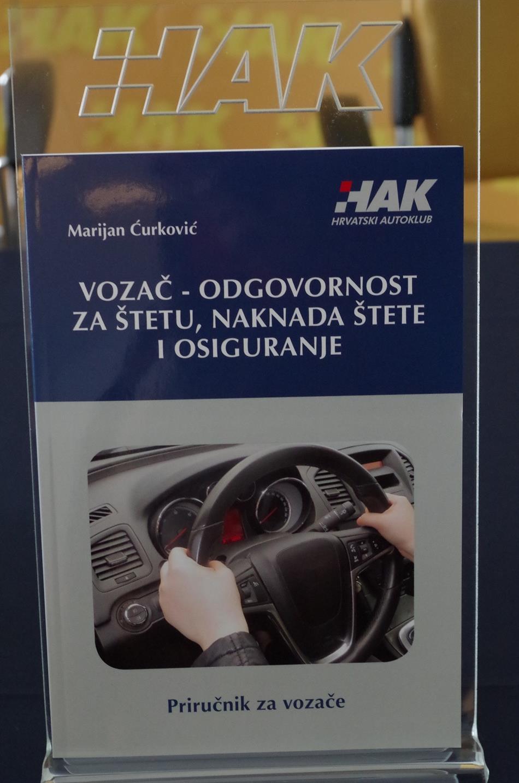Predstavljanje priručnika HAK-a: Vozač-odgovornost za štetu, naknada štete i osiguranje