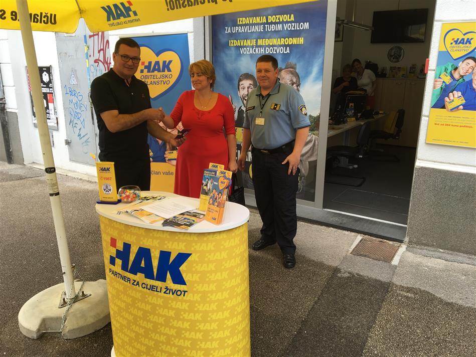 Akcija Autokluba Rijeka: Dan ljubaznosti u prometu