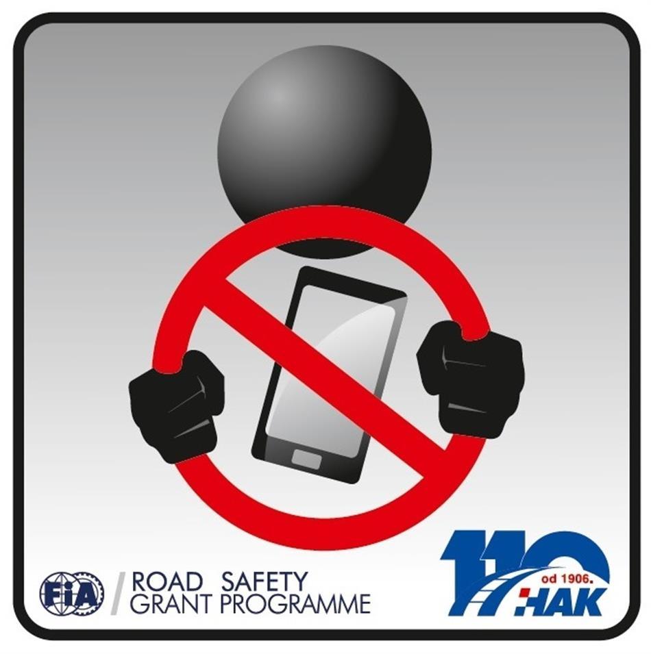 Pravilo 7 -  Ne koristi mobitel dok voziš