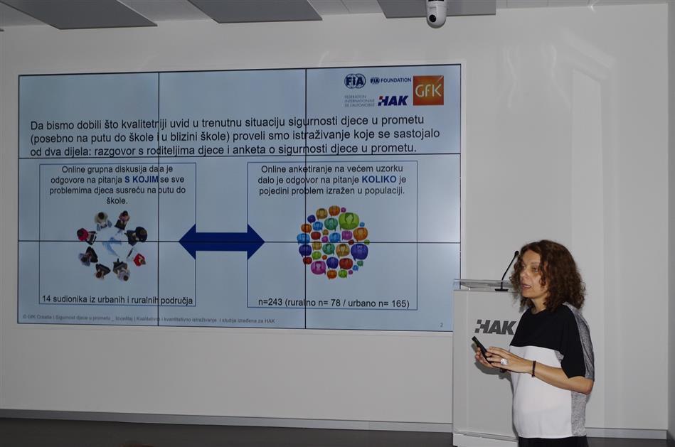 Tamara Kraus, GfK, predstavlja rezultate istraživanja