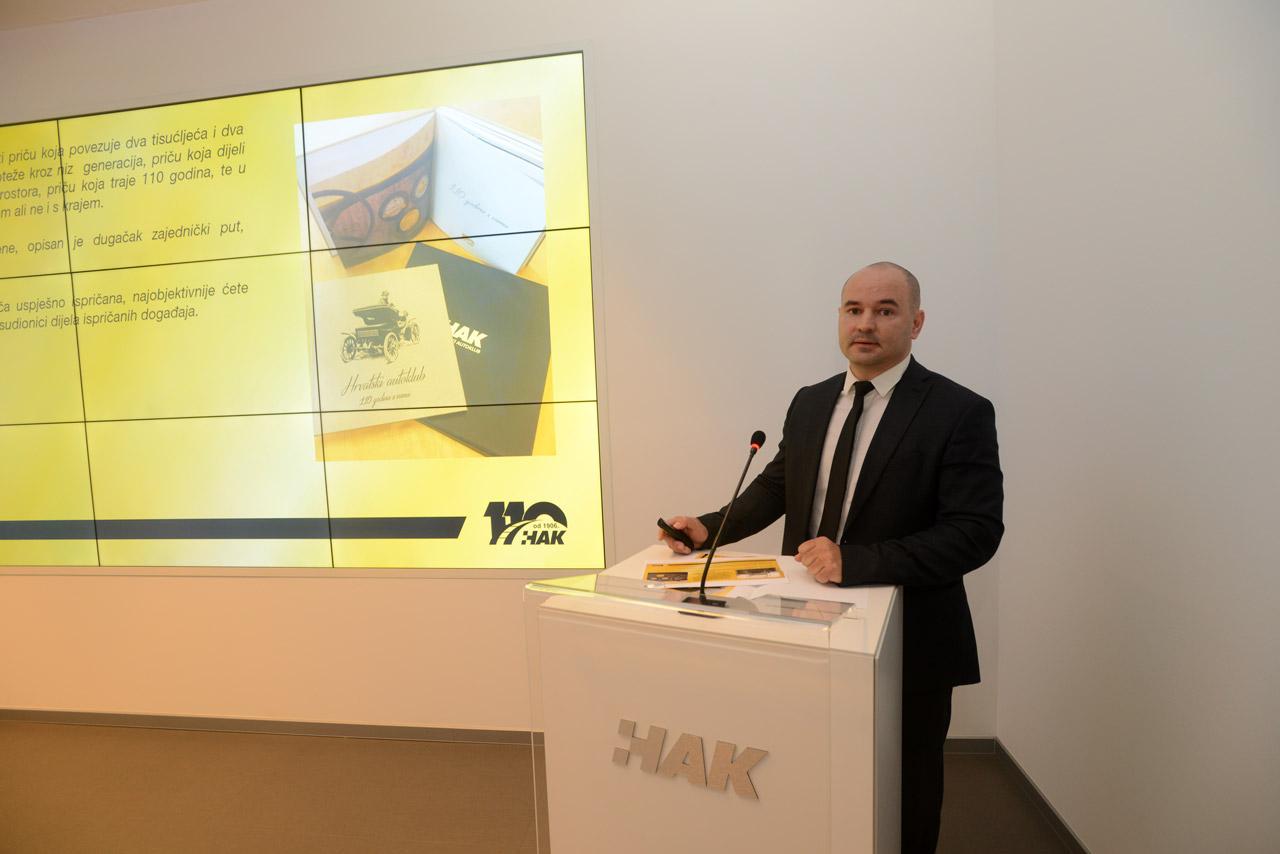 Pomoćnik glavnog tajnika HAK-a, dr. sc. Igor Šiško predstavlja Monografiju