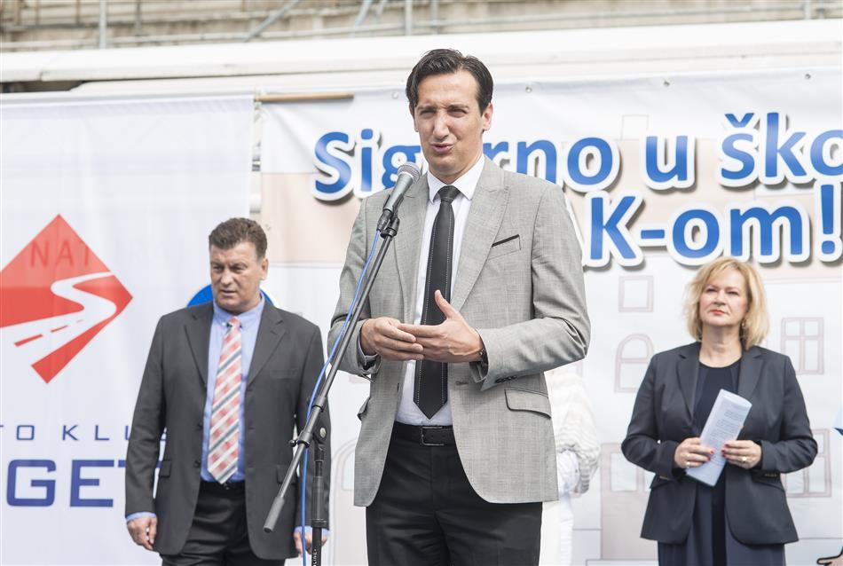 """Akcija """"Sigurno u školu s HAK-om 2017."""" provedena u Zagrebu"""