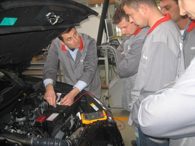 Tehnička obuka za Nissanove automobile