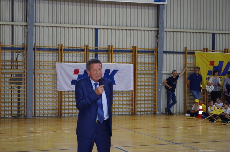 Predsjednik HAK-a Slavko Tušek na otvorenju natjecanja u Rovinju