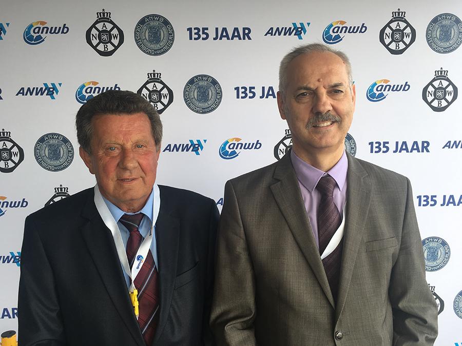 Predsjednik HAK-a g. Slavko Tušek i Glavni tajnik HAK-a g. Željko Mijatović