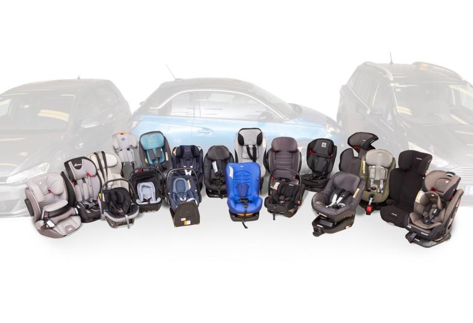 HAK Test dječjih auto sjedalica