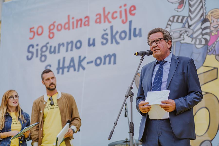 Slavko Tušek, predsjednik HAK-a
