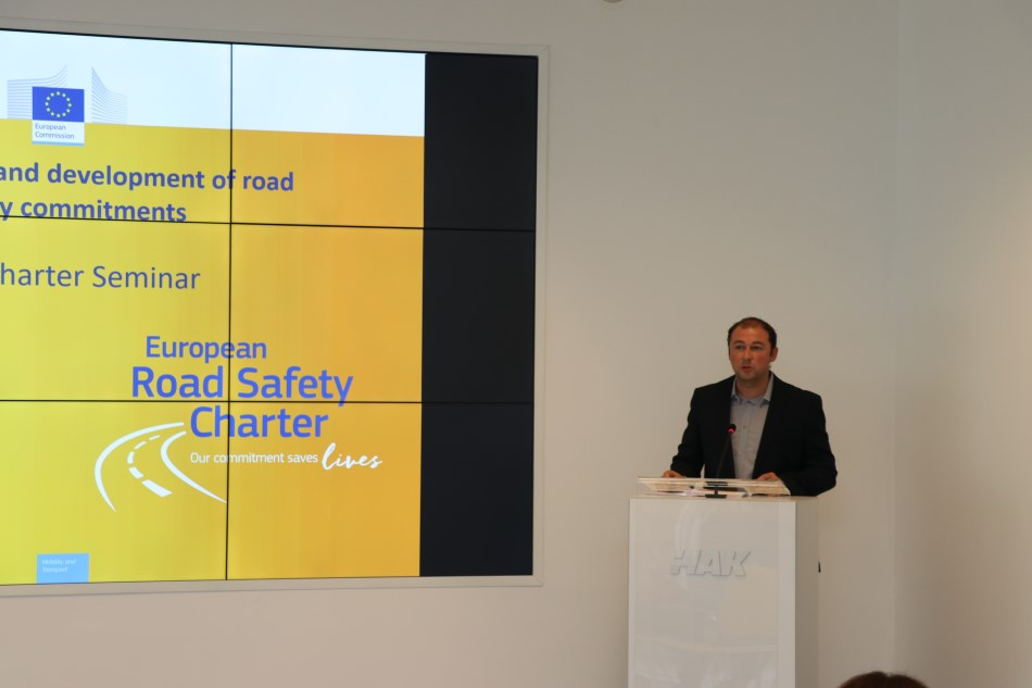 Vincent Leroy - European Road Safety Charter