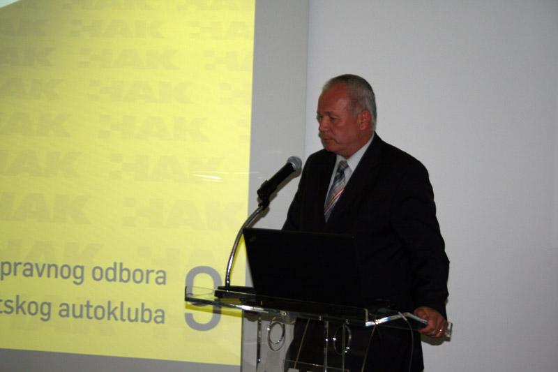 Branko Peran – novo izabrani član UO HAK-a