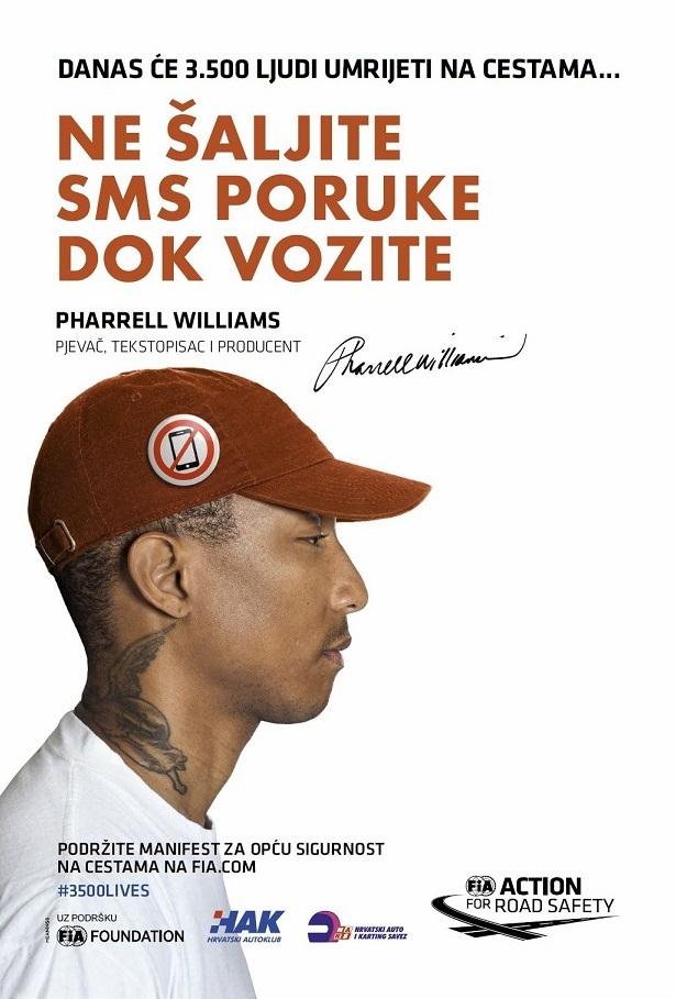 Pharrell Williams - Ne šaljite SMS poruke dok vozite