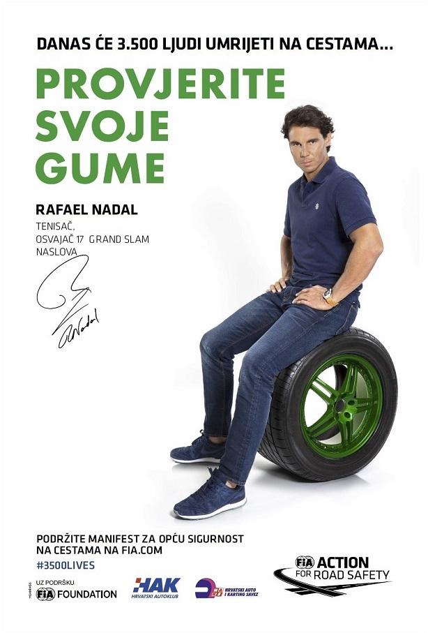 Rafael Nadal - Provjerite svoje gume