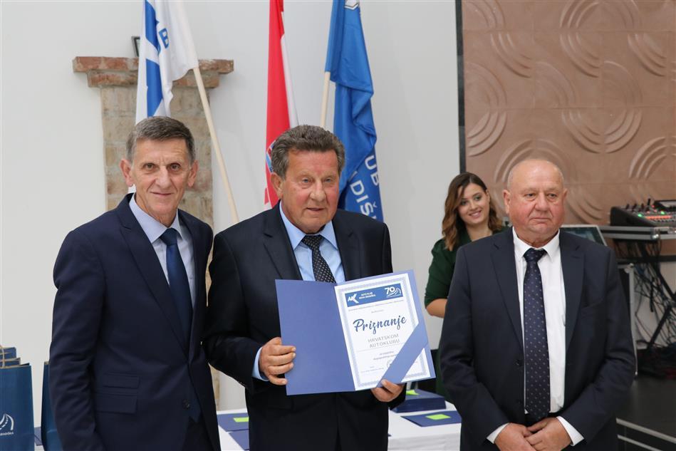 Priznanje HAK-u uručeno je predsjedniku HAK-a Slavku Tušeku