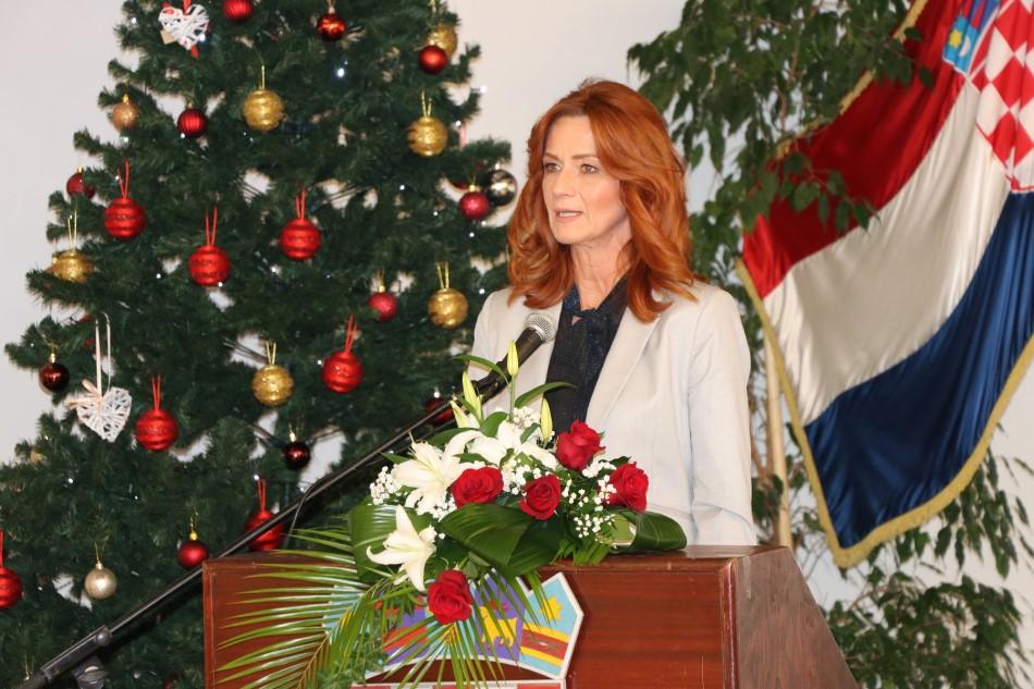 Zamjenica župana Martina Furdek Hajdin