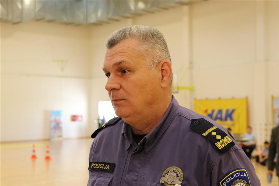 Božidar Budiša, Policijska uprava Zadarska