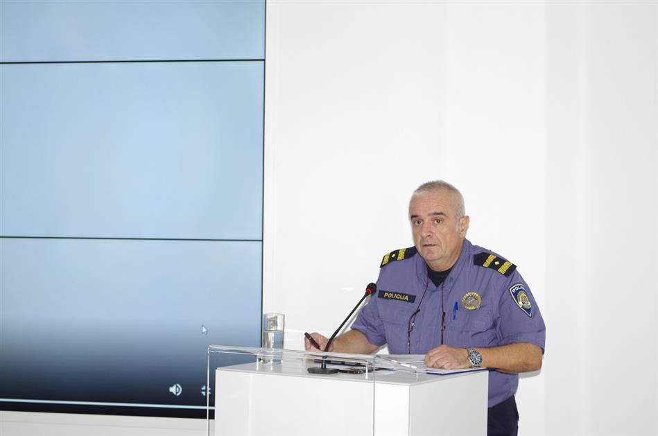 mr.sc. Miron Huljak iz Ministarstva unutarnjih poslova