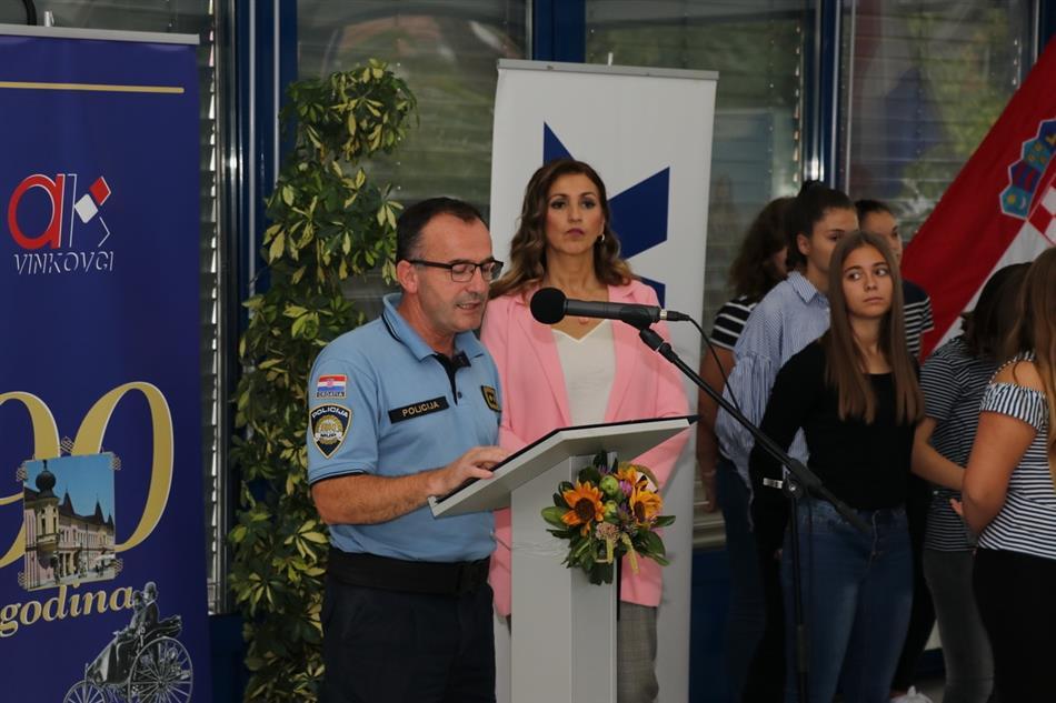 Načelnik Policijske uprave vukovarsko-srijemske mr.sc. Fabijan Kapular