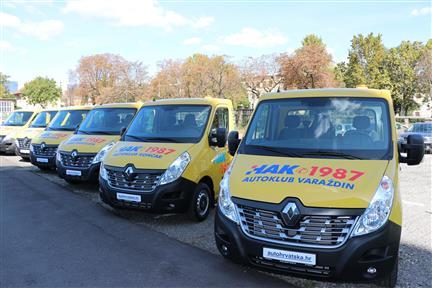 Nastavak ulaganja HAK-a u modernizaciju voznog parka Službe pomoći na cesti