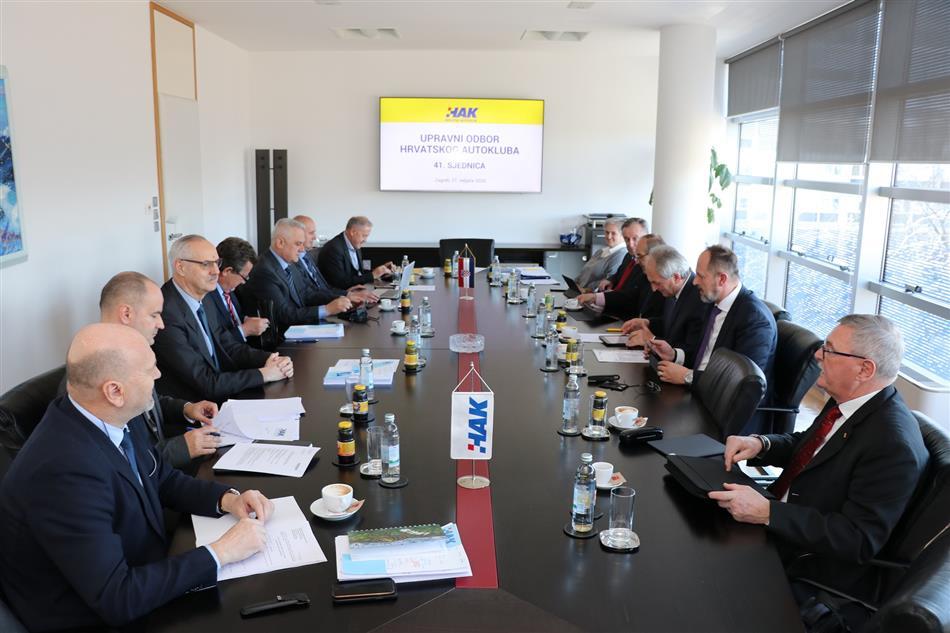 Održana 41. sjednica Upravnog odbora Hrvatskog autokluba