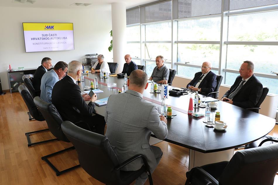 Održana konstituirajuća sjednica Suda časti Hrvatskog autokluba