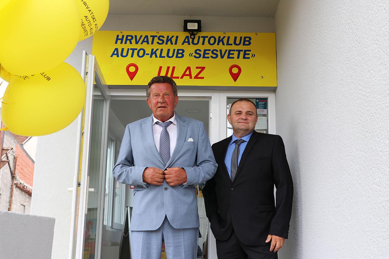 Otvorenje novog poslovnog prostora Autokluba Sesvete
