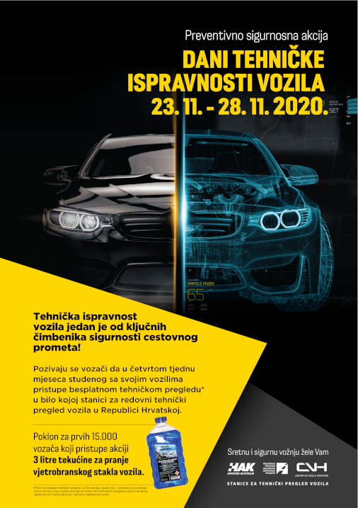Dani tehničke ispravnosti vozila 2020