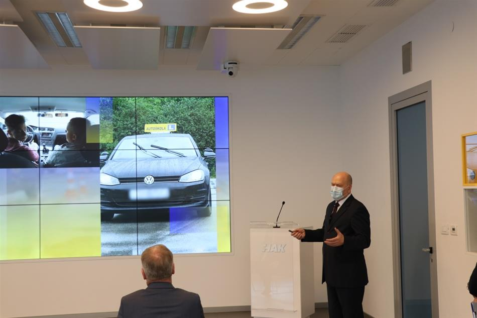 HAK predstavio projekt unaprjeđenja vozačkih ispita - dr.sc. Sinan Alispahić, pomoćnik glavnog tajnika HAK-a