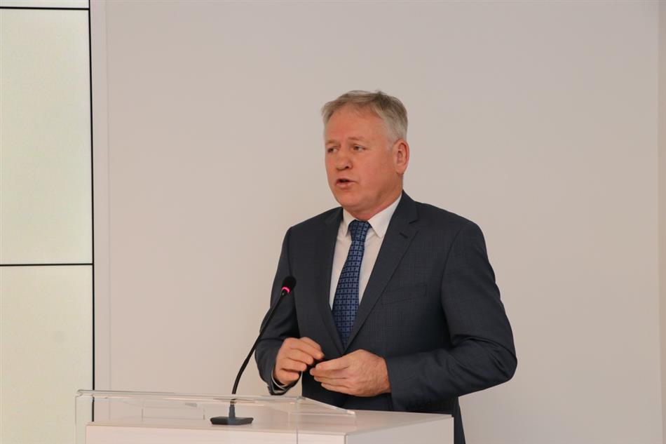 HAK predstavio projekt unaprjeđenja vozačkih ispita - Žarko Katić, Državni tajnik u MUP-u