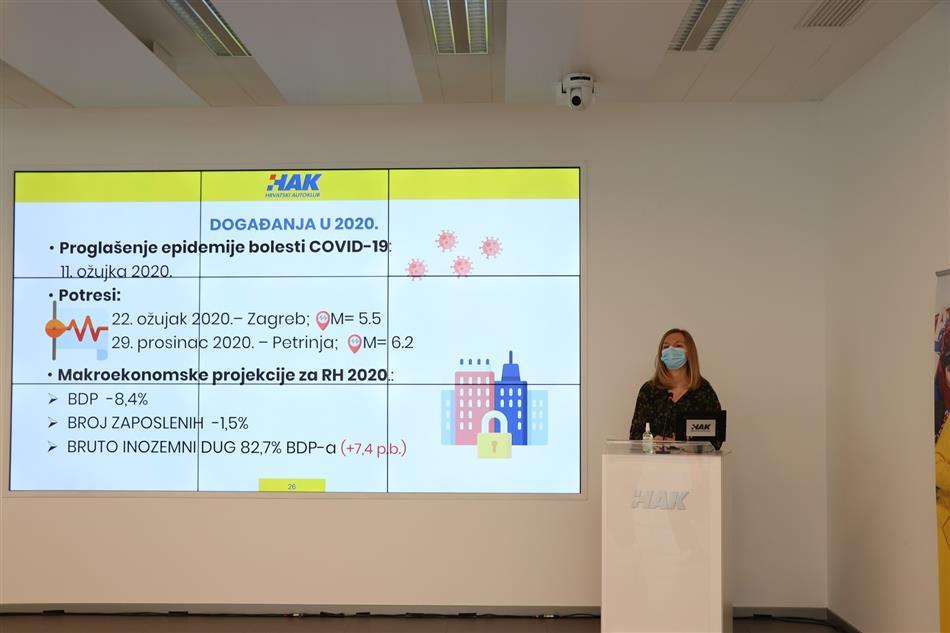 Voditeljica Službe financija i računovodstva Anja Antolić