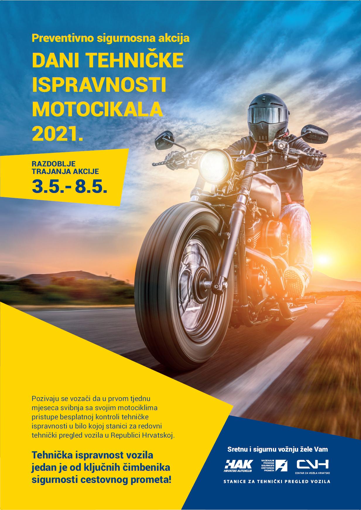 Dani tehničke ispravnosti motocikala 2021.