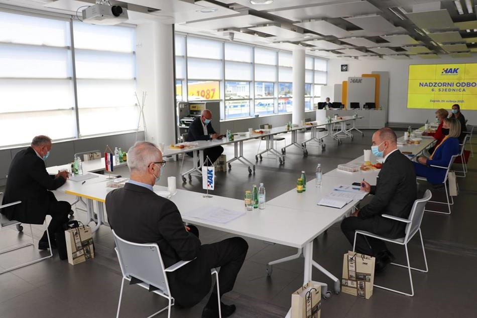 Održana šesta sjednica Nadzornog odbora Hrvatskog autokluba