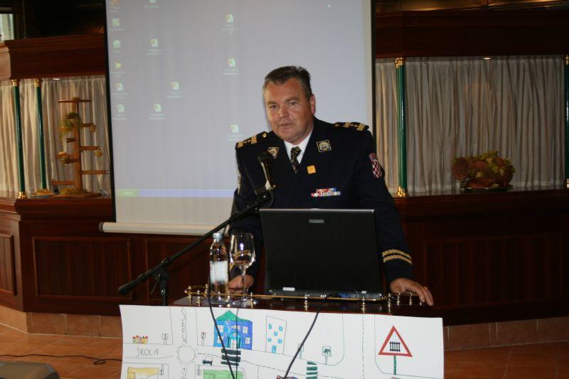 Boris Orlović, načelnik Odjela za sigurnost u cestovnom prometu (MUP)