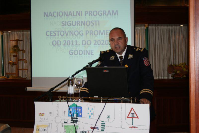 Josip Mataija, načelnik Odsjeka prometne preventive (MUP)