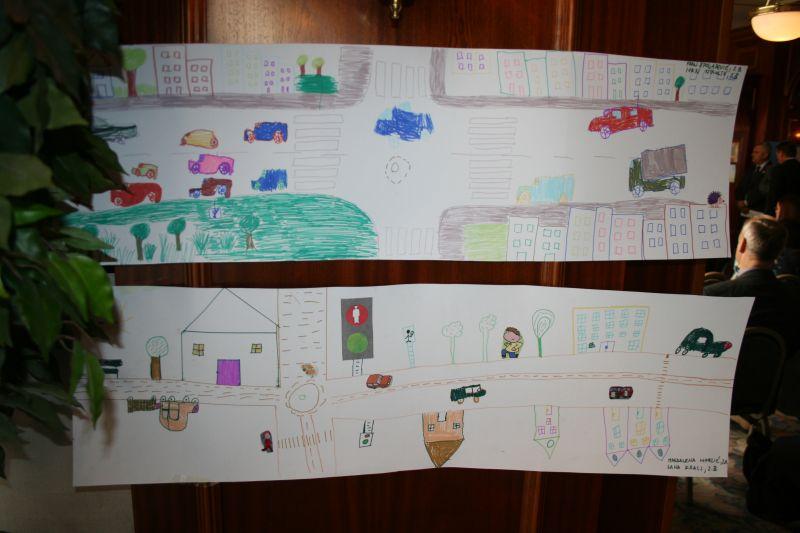 Likovni radovi učenika Osnovne škole Ivan Gundulić, iz Zagreba